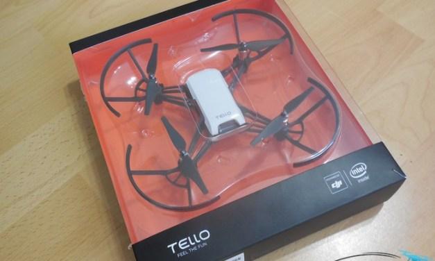 Unboxing DJI Tello – první pohled na nejmenší dron s pozičním systémem