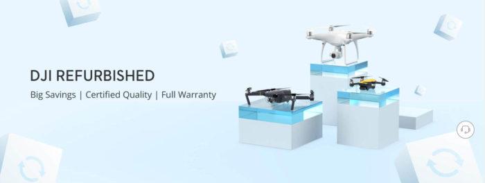 Repasované drony DJI za skvělé ceny v nabídce DJI Store