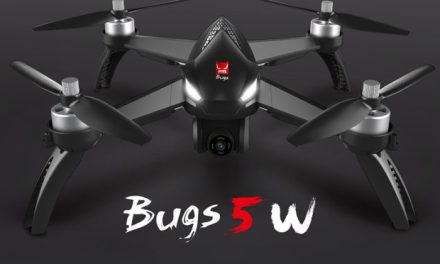 MJX Bugs 5W – mechanický gimbal, GPS a nízká cena