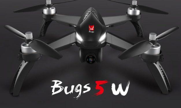 Dron MJX Bugs 5W s GPS a FullHD kamerou za skvělou cenu