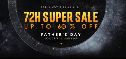 Výprodej elektroniky ke dni otců