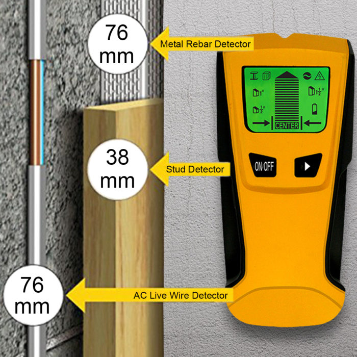 Floureon TH-210 - ruční detektor kovů jen za 10$