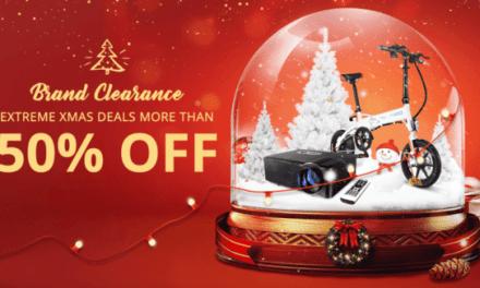 Vánoční mega výprodej na Gearbestu