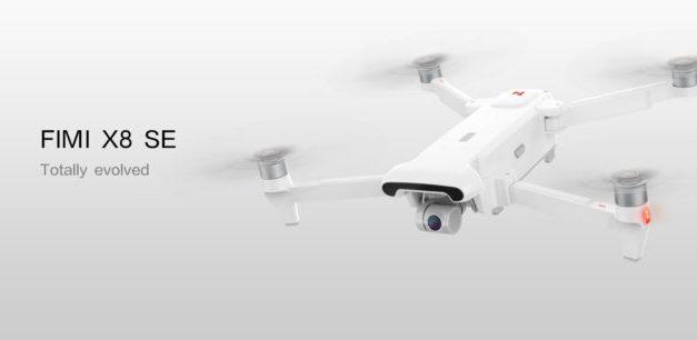 4K dron Xiaomi Fimi X8 SE z EU skladu opět ve slevě