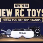 RC výprodej na Gearbestu - ušetřete až 20%