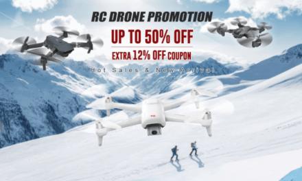 Banggood a jeho výprodej dronů s 20% slevou