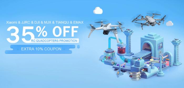 Výprodej dronů a FPV vybavení