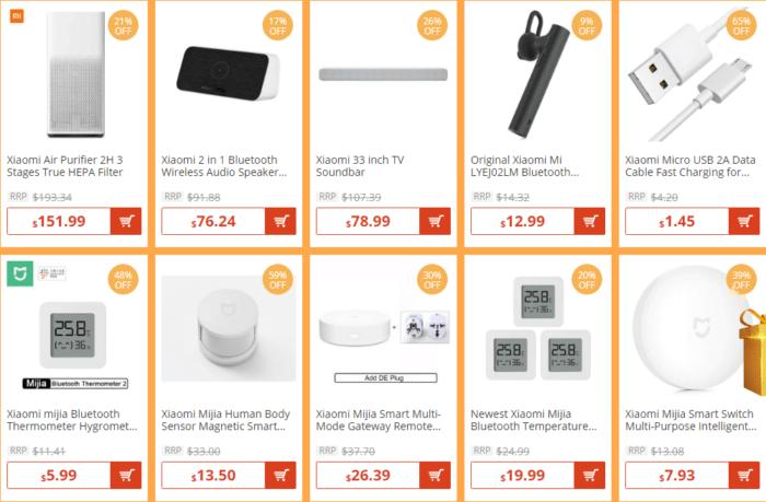Stovky Xiaomi produktů ve slevě