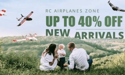 Výprodej RC letadel a dronů na Gearu