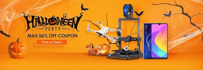 Halloweenský výprodej v plném proudu