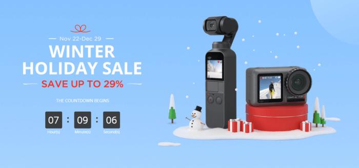 Zimní výprodej na DJI Store