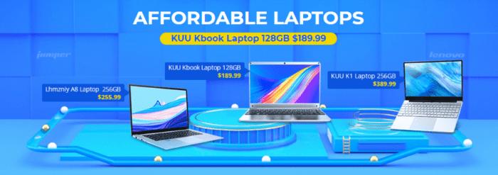 Spousty notebooků ve výprodeji