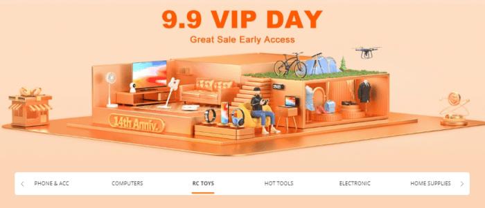 Pre-sale výprodej k 9. 9. odstartován