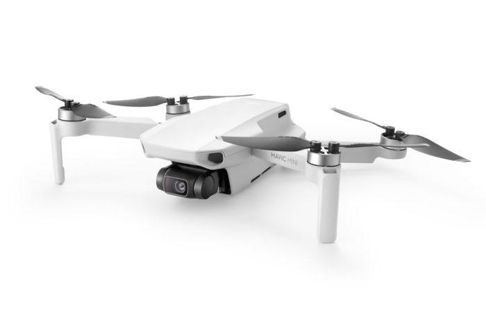 Test dronu DJI Mavic Mini ve větru o rychlosti 38 km/h