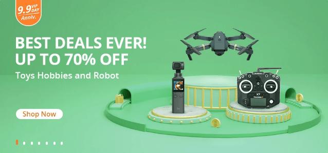 Pospěšte si! Výprodej dronů je tady