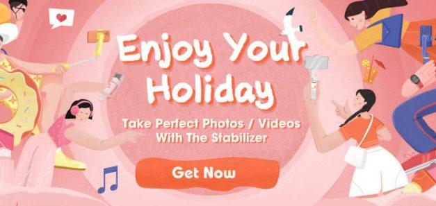 Využijte slev na ruční stabilizátory a vaše videa budou dokonalá