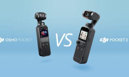 Srovnání: DJI Osmo Pocket vs DJI Osmo Pocket 2