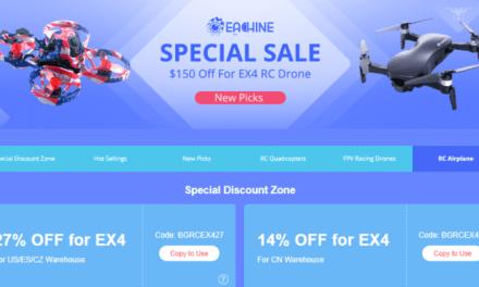 Jste připraveni? Brand sale značky Eachine je tady!