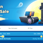Halloweenský výprodej elektroniky