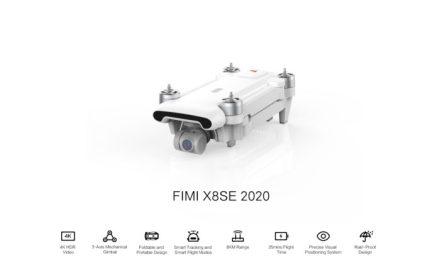 4K dron Fimi X8 SE z EU skladu za perfektní cenu