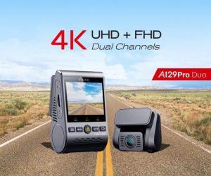 GitUp A129 a GitUp A129 Pro - slušně vybavené autokamery s GPS