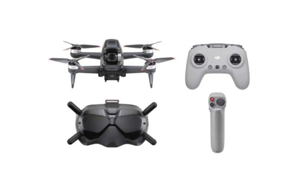 dron DJI FPV - závodní dron od DJI