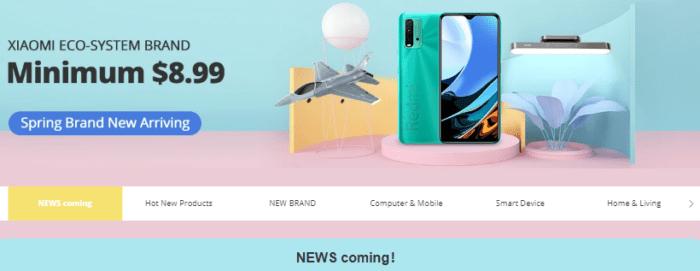 Další z mnoha Xiaomi výprodejů