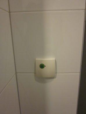 Beveiliging / noodoproep mindervalide toilet