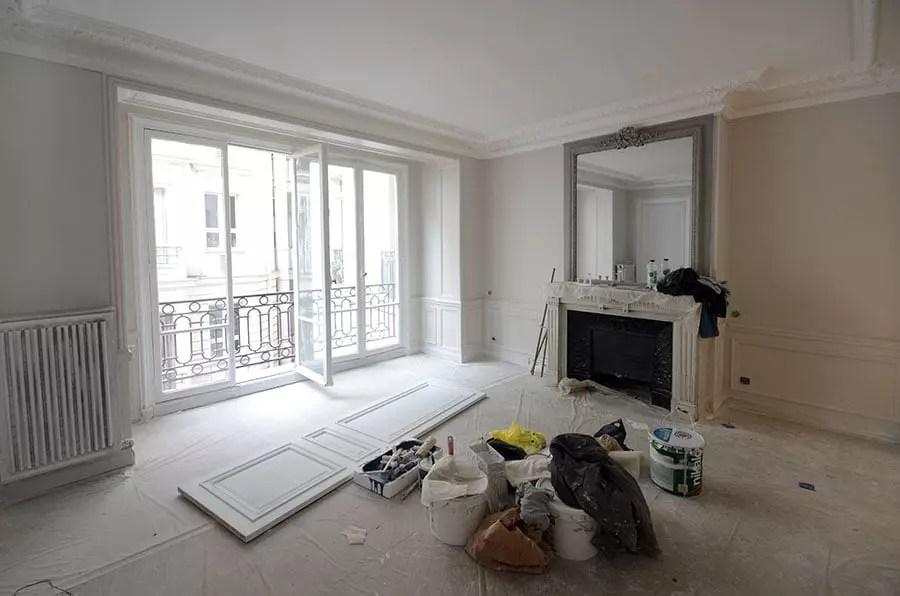 Travaux De Rnovation Dun Grand Appartement Paris 15 Drop