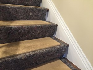 Designer Builders CS and MDF Stair Protection ws