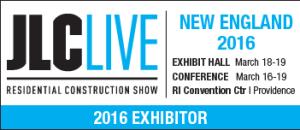 JLC NE 2016 Exhibitor