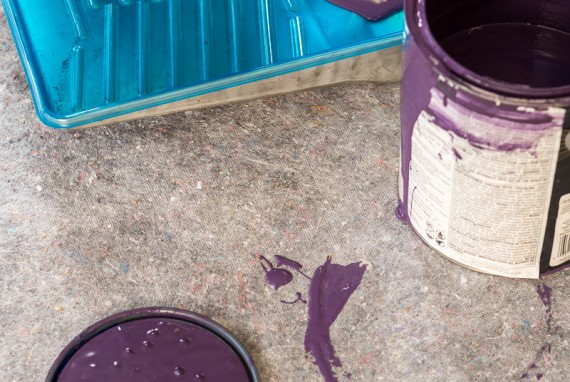 CleanandSafePro reusable drop cloths protect floors from paint drips, spills, scratches and much more.