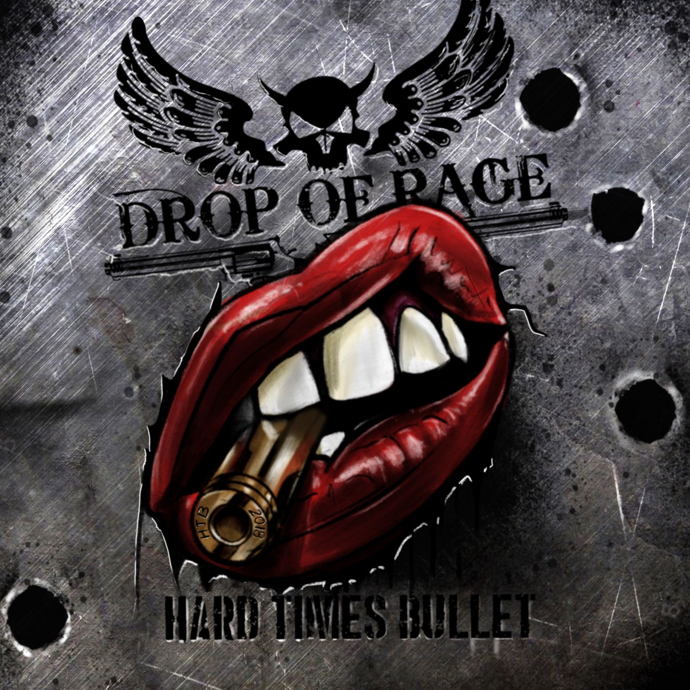"DROP OF RAGE Cover-HTB ""HARD TIMES BULLET"" OUT NOW!!! Allgemein"