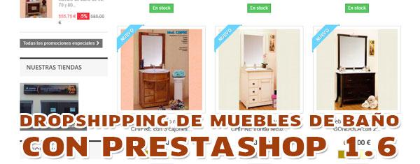 Nuevo proyecto de tienda online de muebles de baño