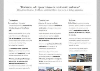 Diseño web construcción con WordPress