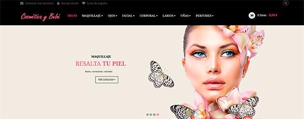 Tienda dropshipping de cosmética y perfumes automatizada