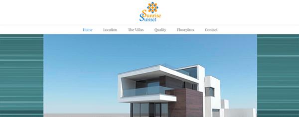 Diseño web en WordPress para promoción inmobiliaria