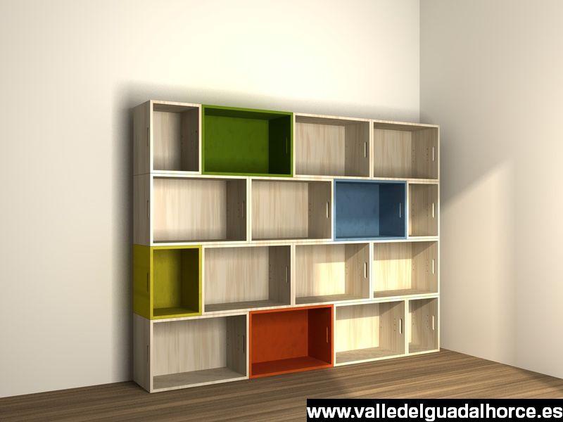 estanteria modular