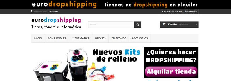 Nueva tienda de consumibles e informática