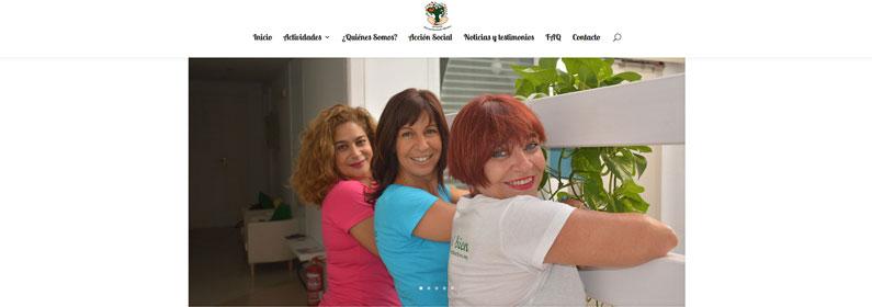 Diseño web en Málaga para Asociación Acompañamiento Afectivo