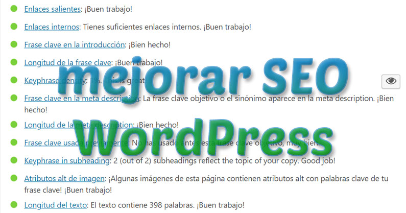 mejorar seo wordpress