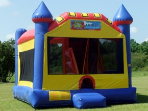 Castle Combo - Inflatable Bouncer with Inflatable Slide inside