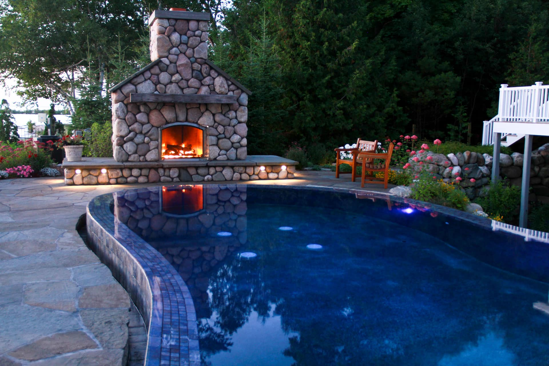 Landscaped Outdoor Living: Fire Pit Ideas Simplified ... on Outdoor Fire Pit Ideas id=83474