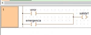 Diagrama de bloques de relés. Programación de Automatas