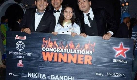 winner of MasterChef India 4 | Nikita Gandhi | Prize Money