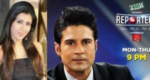 ankita as Shreya in Reporters