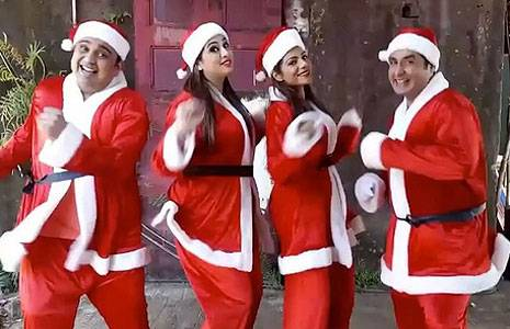 Christmas Celebration in TV Serials | 25 December Celebration