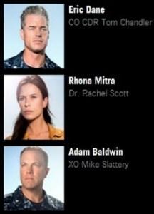star cast 'The Last Ship'