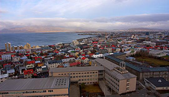 Reykjavik Skyline - © Gary Wolstenholme