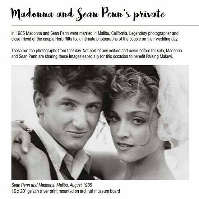 Madonna and Sean Penn wedding